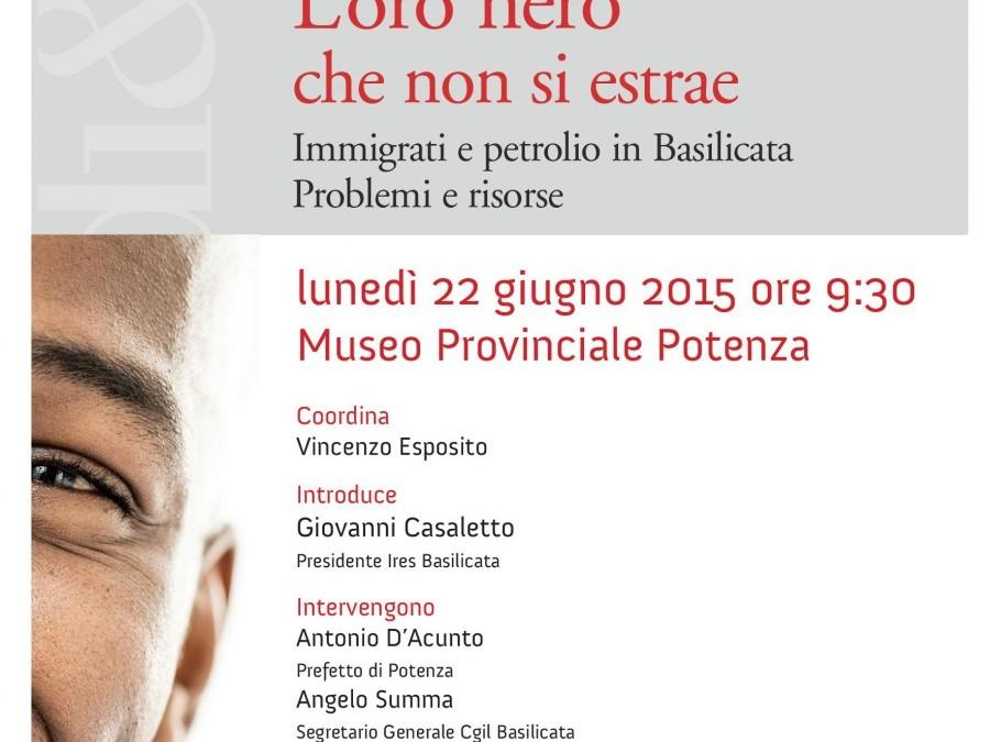 Presentazione I Quaderno Ires Basilicata: galleria foto